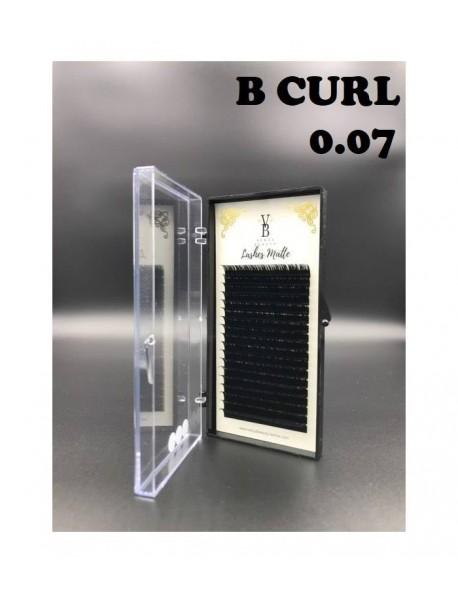 Venus Beauty Matte Lashes B Curl 0.07