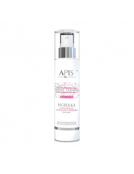 Mist with rose water and wild rose extract